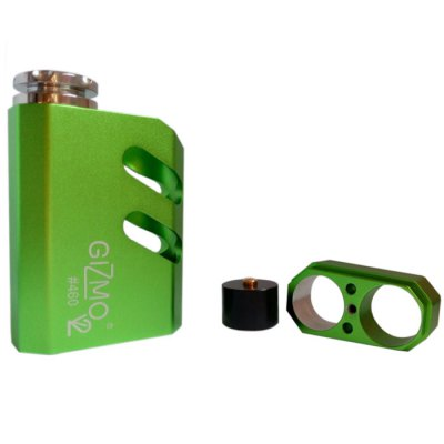 24mm Gizmo V2 Style 18650 / 18500 Battery Aluminum Mechanical Mod with 510 Thread Support 24mm AtomizerMechanical Mods<br>24mm Gizmo V2 Style 18650 / 18500 Battery Aluminum Mechanical Mod with 510 Thread Support 24mm Atomizer<br><br>Type: Electronic Cigarettes Accessories<br>Accessories type: MOD<br>Mod: Mechanical Mod<br>510 Connector Type: Spring Loaded<br>Atmoizer Connector Diameter: 24mm<br>Battery Form Factor: 18500, 18650<br>Battery Quantity: Single<br>Battery cover type: Magnetic<br>Compatible with: 24mm atomizer<br>Material: Stainless steel, Aluminum Alloy, Brass<br>Available Color: Green, Gold, Gray, Black, Red, Silver, Blue<br>Product weight  : 0.160 kg<br>Package weight   : 0.300 kg<br>Product size (L x W x H)  : 8.4 x 5.1 x 2.6 cm / 3.30 x 2.00 x 1.02 inches<br>Package size (L x W x H)  : 14.5 x 8.2 x 5.5 cm / 5.70 x 3.22 x 2.16 inches<br>Package Contents: 1 x Mod, 1 x O-ring, 1 x Magnet Insulator, 1 x Extender Base, 2 x Allen Key