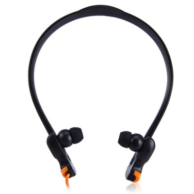 Фотография MDR-J039 Sweat Resistant 3.5mm Stereo Hand-Free Headphone for iPhone / iPod / MP3 / Tablet / Laptop Silicone Ear-Tips Outdoor Sports Earphone