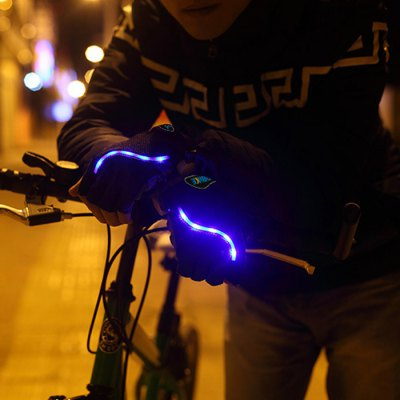 LEADBIKE Practical Outdoor Cycling Night Riding Half Finger Gloves