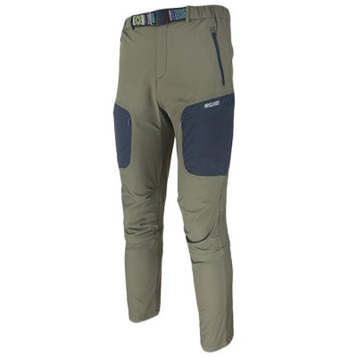 Arsuxeo Men Splittable Ninth Pants / Capri Trousers for Cycling Climbing HikingCycling<br>Arsuxeo Men Splittable Ninth Pants / Capri Trousers for Cycling Climbing Hiking<br><br>Brand Name: Arsuxeo<br>Model Number: AR1316<br>For: Man<br>Type: Cycling Jerseys<br>Material: Chemical Blended Fiber<br>Functions: Soft, Breathable, Quick-drying, Anti-Shrink<br>Suitable for : Road Bike, Mountain Bicycle, Bike, Electrombile<br>Color: Gray, Green<br>Condition: 100% New<br>Size: XL, XXL, M, L<br> Product weight : 0.490 kg<br>Package weight : 0.520 kg<br>Package size (L x W x H)  : 28.0 x 23.0 x 2.0 cm / 11.00 x 9.04 x 0.79 inches<br>Package Contents: 1 x Splittable Pants, 1 x Waistband