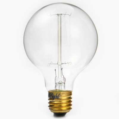 YouOKLight 40W 400LM E27 Tungsten Filament Spiral Globe Bulb Retro Incandescent Bulbs - 220V 3000KLED Light Bulbs<br>YouOKLight 40W 400LM E27 Tungsten Filament Spiral Globe Bulb Retro Incandescent Bulbs - 220V 3000K<br><br>Brand : YouokLight<br>Base Type: E27<br>Type: Ball Bulbs<br>Output Power: 40W<br>Actual Lumen(s): 400Lm<br>Wavelength/Color Temperature: 3000K<br>Voltage (V): AC 220<br>Angle: 360 degree<br>Features: Retro Edison Style<br>Function: Commercial Lighting, Studio and Exhibition Lighting, Home Lighting<br>Available Light Color: Warm White<br>Sheathing Material: Glass<br>Product Weight: 0.041 kg<br>Package Weight: 0.1 kg<br>Product Size (L x W x H): 11 x 7 x 7 cm / 4.32 x 2.75 x 2.75 inches<br>Package Size (L x W x H): 12.5 x 8 x 8 cm / 4.91 x 3.14 x 3.14 inches<br>Package Contents: 1 x YouOKLight Retro Bulb