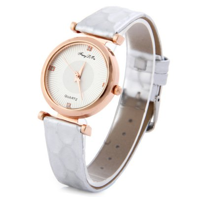 Здесь можно купить   FangLiQu 8662 Snakeskin Leather Band Quartz Watch for Women
