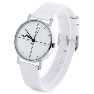 Гаджет   Feifan C052-4G Contracted Quartz Watch with Leather Band for Women Women