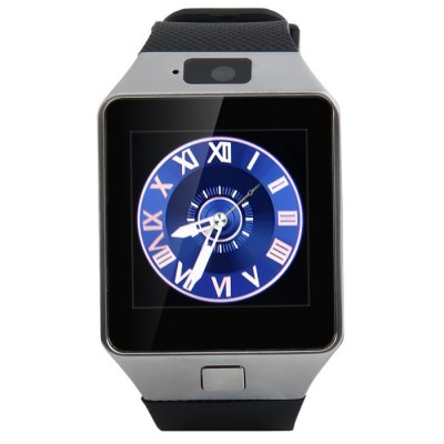 Гаджет   ICou I5 Bluetooth 3.0 Smart Watch 2G Phone Support TF Card 0.3MP Camera with Sleep / Sport Tracking Sedentary Reminder Function Smart Watches
