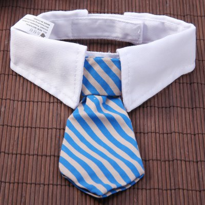 Гаджет   Cute Dog Bow - Tie Two Stripes Necktie Collar for Pet Dog Pet Supplies