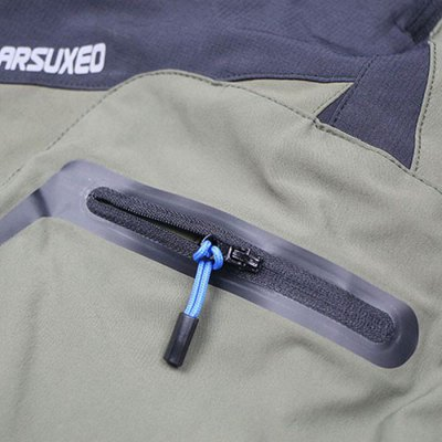Фотография Arsuxeo Breathable Anti-UV Cycling Short Pants with Safety Reflective Logo for Men