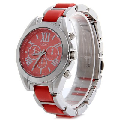 Geneva Ladies Japan Quartz Watch with Small Dial Steel Strap Decorative Sub-dials - GenevaWomens Watches<br>Geneva Ladies Japan Quartz Watch with Small Dial Steel Strap Decorative Sub-dials<br><br>Brand: Geneva<br>Watches categories: Female table<br>Available color: Red, Blue, Gold, Azure<br>Style: Fashion&amp;Casual<br>Movement type: Quartz watch<br>Shape of the dial: Round<br>Display type: Analog<br>Case material: Stainless steel<br>Band material: Steel<br>Clasp type: Folding clasp with safety<br>The dial thickness: 1.0 cm / 0.39 inches<br>The dial diameter: 3.6 cm / 1.41 inches<br>The band width: 1.6 cm / 0.63 inches<br>Product weight: 0.085 kg<br>Package weight: 0.135 kg<br>Product size (L x W x H) : 12.5 x 3.6 x 1 cm / 4.91 x 1.41 x 0.39 inches<br>Package size (L x W x H): 13.5 x 4.6 x 2 cm / 5.31 x 1.81 x 0.79 inches<br>Package contents: 1 x Geneva Watch