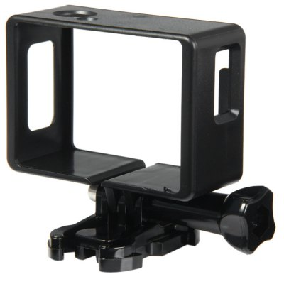 Practical PVC Camera Frame with Mounting Base Screw Fits for SJ4000 / SJ4000 WIFI