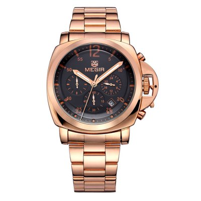 MEGIR 3006 Date Function Japan Quartz Male Watch