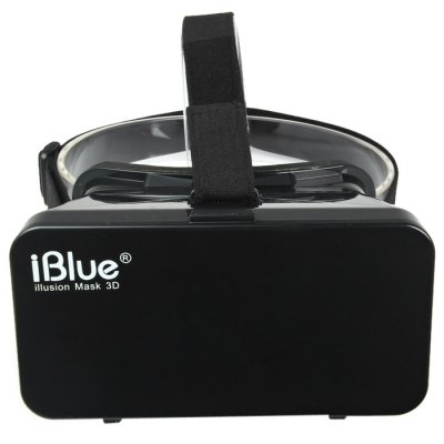 iBlue Universal 3D Virtual Reality VR Glasses as Google Glasses Headset Smart Phone 3D Private Theater for 3.5 - 4.7 inches Smartphone