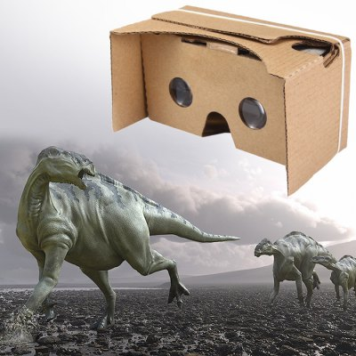 Гаджет   iBlue V2 DIY Cardboard 3D VR Glasses for Google VR Valencia Quality Max Smart Phone 3D Private Theater for 6 inches Smartphone ( Small Lens ) Virtual Reality