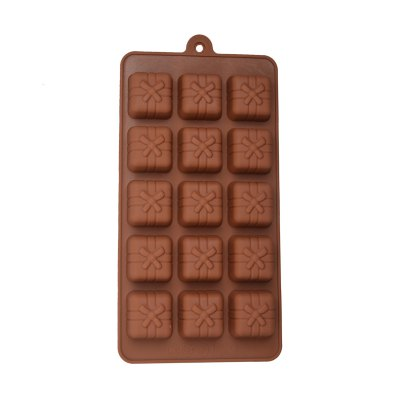 Гаджет   15-Cup DIY Silicone Bow Style Baking Mold DIY Kitchen Modes Set for Cake / Biscuit / Chocolate Kitchen & Dining