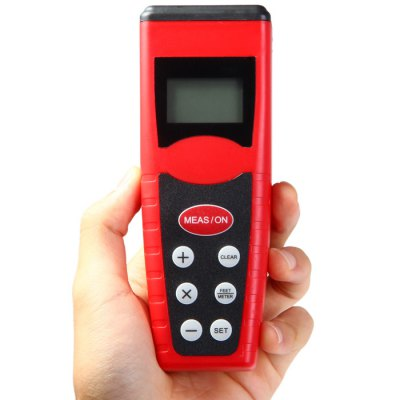 Гаджет   CP-3000 New Mini Smart Ultrasonic Distance Meter with LCD Backlight Laser Rangefinder, Electronic Distance Meter
