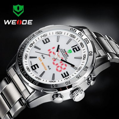 weide cool design led watch with japan double movt day. Black Bedroom Furniture Sets. Home Design Ideas