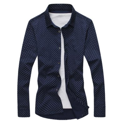 Fashion Shirt Collar Tiny Letters Print Slimming Long Sleeve Cotton Blend Button-Down Shirt For MenMens Shirts<br>Fashion Shirt Collar Tiny Letters Print Slimming Long Sleeve Cotton Blend Button-Down Shirt For Men<br><br>Shirts Type: Casual Shirts<br>Material: Polyester, Cotton<br>Sleeve Length: Full<br>Collar: Turn-down Collar<br>Weight: 0.35KG<br>Package Contents: 1 x Shirt