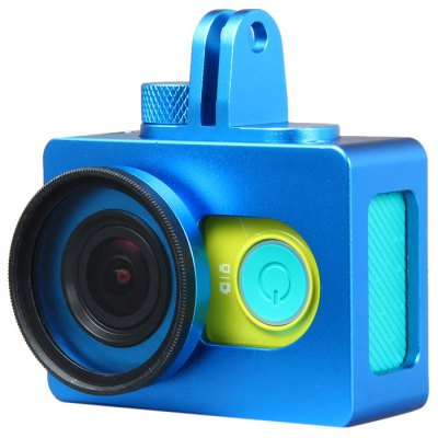 Metal Protective Camera Frame with UV 37mm Filter Lens for Xiaomi Yi Action Camera