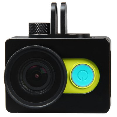 Practical Metal Material Camera Protective Frame with UV 37mm Filter Lens Kit for Xiaomi Yi Sports Camera