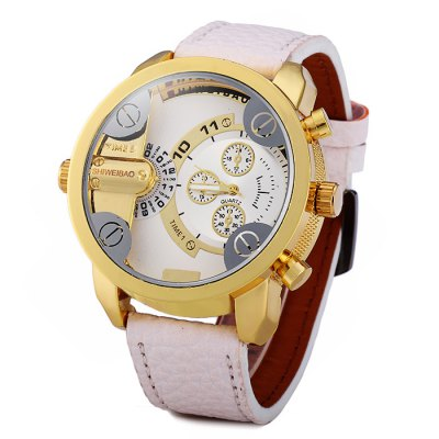 Shiweibao A3132 Dual Time Male Quartz Watch