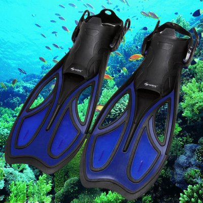 WAVE 6855 Adjustable Snorkeling Diving Flippers Rubber Swimming Fins