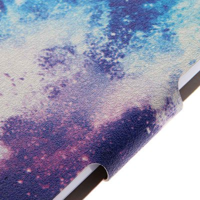Фотография Kinston Card Holder PU Leather Phone Cover Case with the Milky Way Design for Huawei Ascend P7