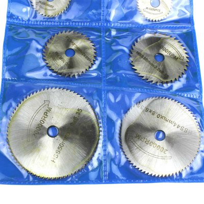 Гаджет   7pcs High Speed Hacksaw Blade Electric Grinding Sheet Crane Mill Accessories Tools