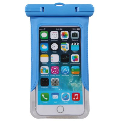 Гаджет   Transparent Waterproof Silicone Protective Pouch Phone Bag with Lanyard for iPhone 6 / 6 Plus Samsung S6 etc. iPhone Cases/Covers