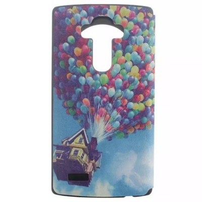 ФОТО House Pattern Cover Case with View Window Stand for LG G4