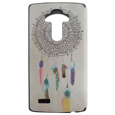 ФОТО Catch Dream Net Pattern Cover Case with View Window Stand for LG G4