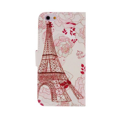 ФОТО Kinston Flower Tower Pattern Cover Case for iPhone 6 4.7 inch