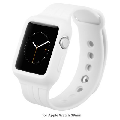 Baseus TPU Strap Watch Band Back Cover for Apple Watch iWatch 38mm
