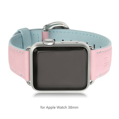 Фотография Baseus Contrast Color Leather Band Strap for Apple Watch iWatch 38mm