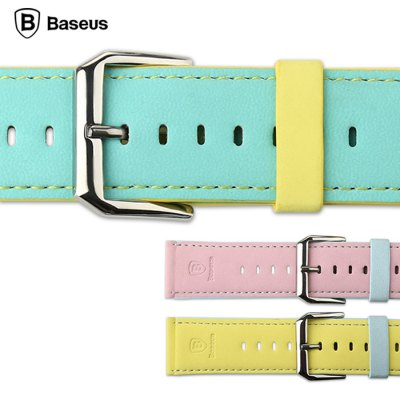 Фотография Baseus Contrast Color Leather Band Strap for Apple Watch iWatch 42mm