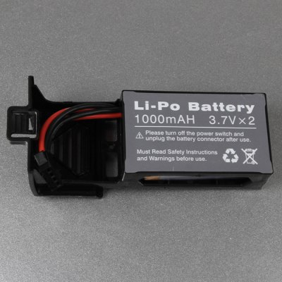 Spare 3.7V 1000mAh Battery with Base for UDI U818S Remote Control QuadcopterRC Quadcopter Parts<br>Spare 3.7V 1000mAh Battery with Base for UDI U818S Remote Control Quadcopter<br><br>Type: Batteries<br>Material: Metal, Electronic components<br>Package Weight: 0.64 kg<br>Product Size (L x W x H): 10 x 3.5 x 3 cm / 3.93 x 1.38 x 1.18 inches<br>Package Size (L x W x H): 12 x 6 x 4 cm / 4.72 x 2.36 x 1.57 inches<br>Package Contents: 1 x Battery with Base