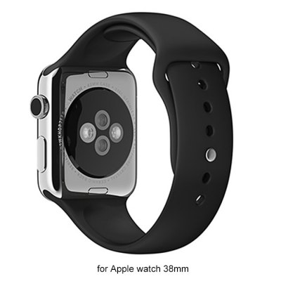 Гаджет   Rubber Strap Watch Band for Apple Watch iWatch 38mm Watch Accessories