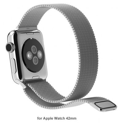 TOTU Stainless Steel Band Watch Strap for Apple Watch iWatch 42mm