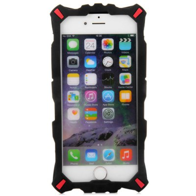 Fashionable Silicone Back Cover Case with Transformer Face Pattern for iPhone 6 - 4.7 inch