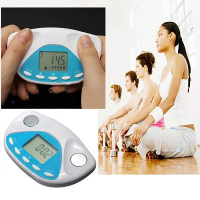 BZ - 2008 Digital Body Fat Analyzer Monitor Weight Loss Tester with LCD Display