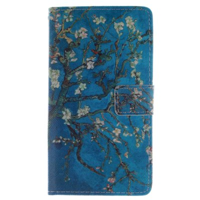 Гаджет   Apricot Blossom Pattern Cover Case with Stand for Samsung Galaxy Note Edge N9150 Samsung Cases/Covers