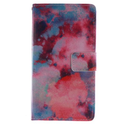 ФОТО Color Cloud Pattern Cover Case with Stand for Samsung Galaxy Note Edge N9150