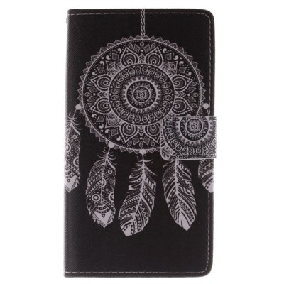Гаджет   Black Dreamcatcher Pattern Cover Case PU and TPU Material for Samsung Galaxy Note Edge N9150 Samsung Cases/Covers