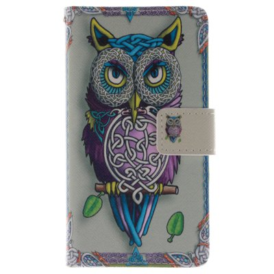 ФОТО The Owl Pattern Cover Case with Stand Function for Samsung Galaxy S4 I9500