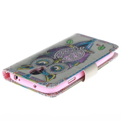 Фотография The Owl Pattern Cover Case with Stand Function for Samsung Galaxy S4 I9500