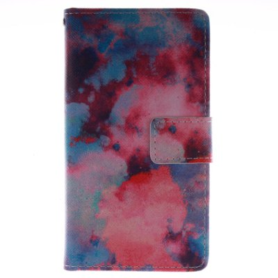 ФОТО Color Cloud Pattern Cover Case with Stand Function for Samsung Galaxy S4 I9500