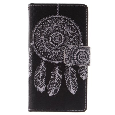 ФОТО Black Dreamcatcher Pattern Cover Case with Support for Samsung Galaxy S4 I9500
