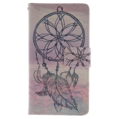 Dreamcatcher Pattern Cover Case with Stand Function for Samsung Galaxy S4 I9500