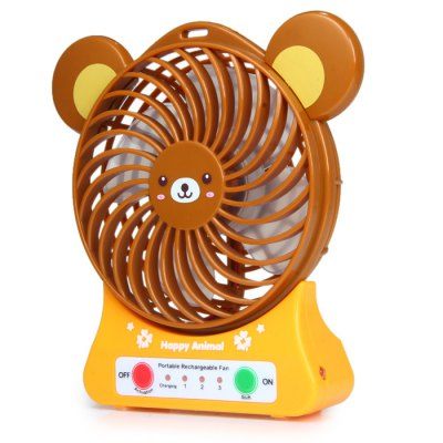 Гаджет   Super Big Wind Animal Design Suspensible USB Rechargeable Fan with Li - ion Battery Home Gadgets