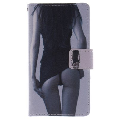 ФОТО Sexy Girl Pattern Cover Case PU and TPU with Stand for Samsung Galaxy S4 I9500