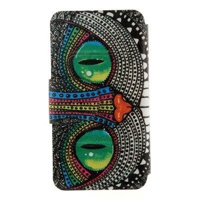 ФОТО Shining Eye Monster Pattern Cover Case with Stand for Nokia Lumia 625