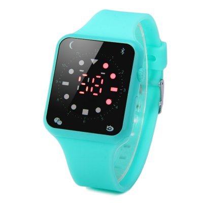 HZ55 Red Digital LED Sports Watch Decorative Icon Rubber Band WristwatchLED Watches<br>HZ55 Red Digital LED Sports Watch Decorative Icon Rubber Band Wristwatch<br><br>People: Unisex table<br>Watch style: Classic, LED<br>Available color: Azure, Plum, Brown, Black<br>Shape of the dial: Rectangle<br>Movement type: Digital watch<br>Display type: LED lamp, Digital<br>Case material: Rubber/Silicone<br>Band material: Rubber<br>Clasp type: Pin buckle<br>The dial thickness: 0.9 cm / 0.35 inches<br>The dial diameter: 3.7 cm / 1.45 inches<br>The band width: 2.0 cm / 0.79 inches<br>Wearable Length:: 18 - 23.5 cm / 7.09 - 9.25 inches<br>Product weight: 0.027 kg<br>Package weight: 0.077 kg<br>Product size (L x W x H) : 25.6 x 3.7 x 0.9 cm / 10.06 x 1.45 x 0.35 inches<br>Package size (L x W x H): 26.6 x 4.7 x 1.9 cm / 10.45 x 1.85 x 0.75 inches<br>Package contents: 1 x HZ55 LED Sports Watch