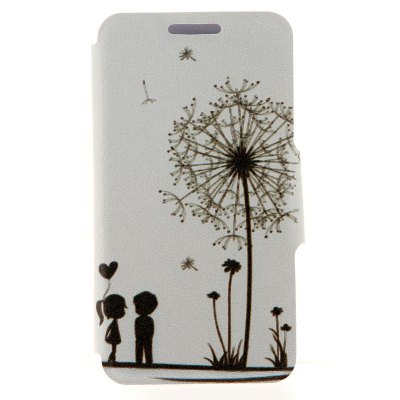 Dandelion Pattern Cover Case with Stand for Sony Xperia Z3